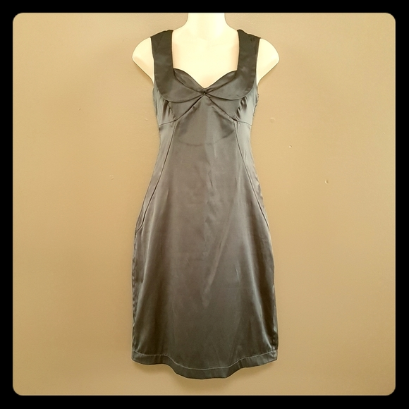 Cute dress with faux collar